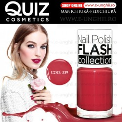 Lacuri Unghii 339 FLASH Collection - QUIZ Cosmetics