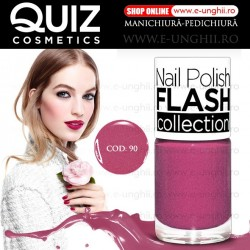 Lacuri Unghii 90 FLASH Collection - QUIZ Cosmetics