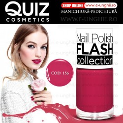 Lacuri Unghii 156 FLASH Collection - QUIZ Cosmetics