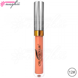 Ruj Semipermanent Oranjollie Professional, Cod 12 Rouge Pour Couture, 4,5 g, Long Lasting Lipstick