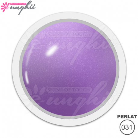 Geluri Colorate Prlate, Exclusive Nails, Cod 031, Culoare Lilac Diurnal, 5ml