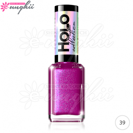 Oja Holografica Unghii Eveline, Holo Collection Nr. 39