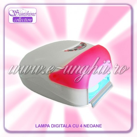 "Lampa UV-Digitala cu Ventilator ""PINK"""