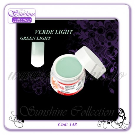 Gel Colorat-VERDE LIGHT Cod:148